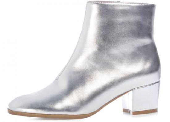 Zapatos plateados en Primark
