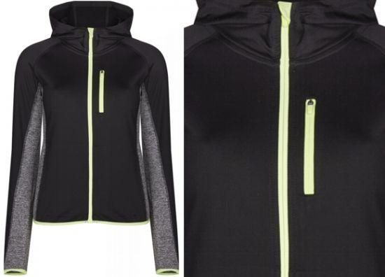 chaqueta negra de mujer