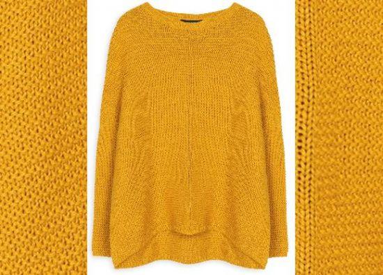 jersey de punto jerseis de punto color mostaza