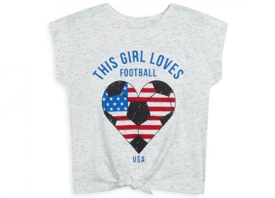 camiseta de futbol para niños