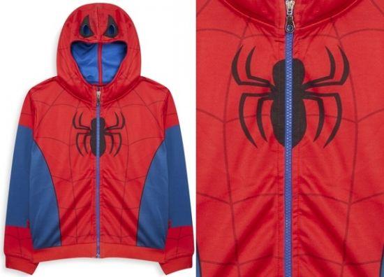 Chaqueta de Spiderman con cremallera