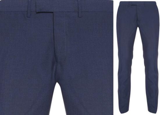 Pantalones azules inteligentes