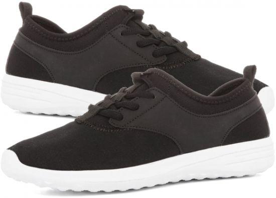 3fa2de71c90fe Zapatillas negras deportivas de tela en Primark ofertas