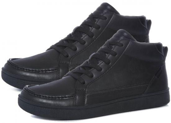 venta de zapatillas negras de piel por internet
