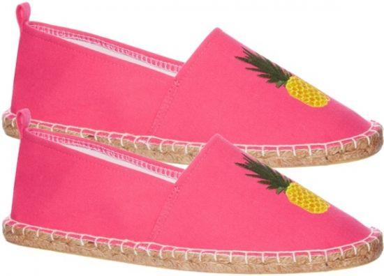 zapatillas rosa con piña de estar por casa invierno