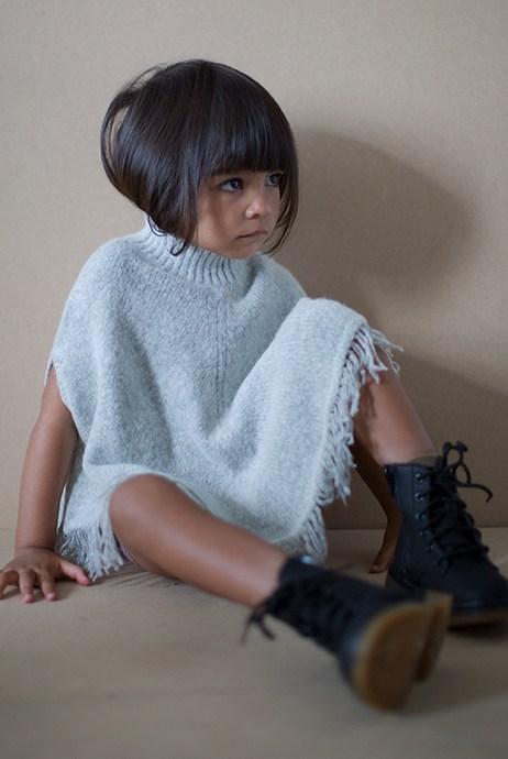 Moda minimalista para niños