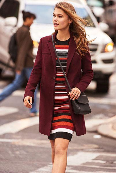 Vestido corto chaqueta colorido Primark