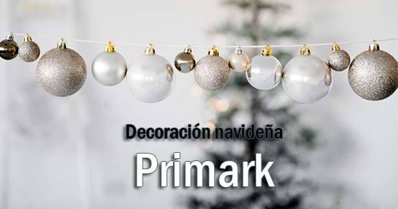 Ofertas decoración Navidad Primark