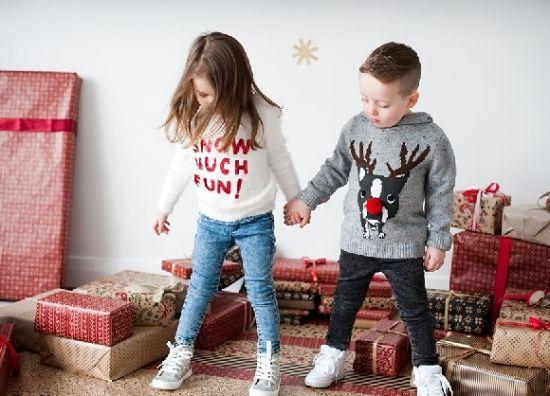 ropa de navidad para niños