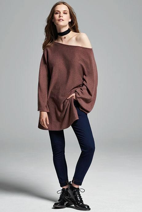 jersey de hombros descubiertos