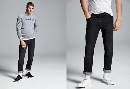 pantalon primark negro