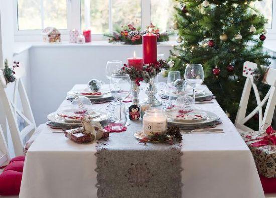Decoraci n con dise o primark adornar la mesa para navidad - Adornar la mesa de navidad ...