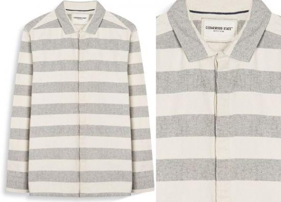 camisas hombre dos colores