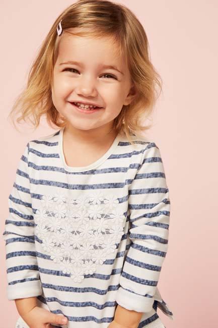 Camisetas de niña 3 años Primark