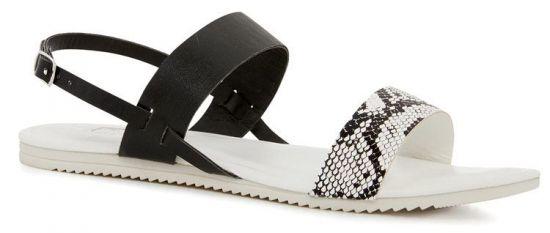 Sandalias de cuero para mujer Primark