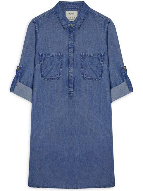 Vestido Denim corto jean