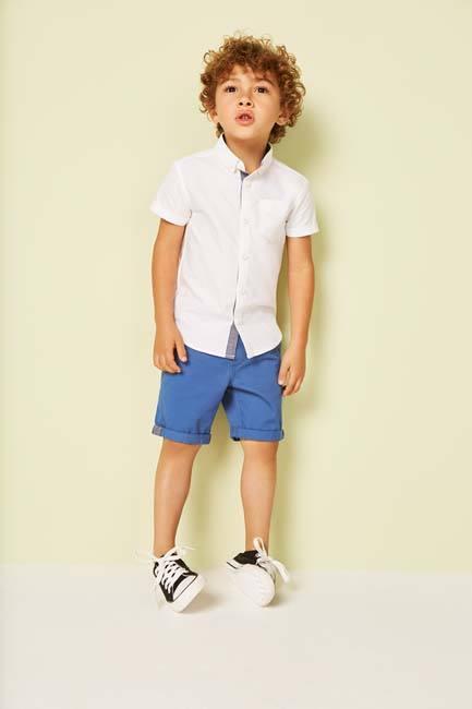 ropa online para niños Primark camisa blanca para niño