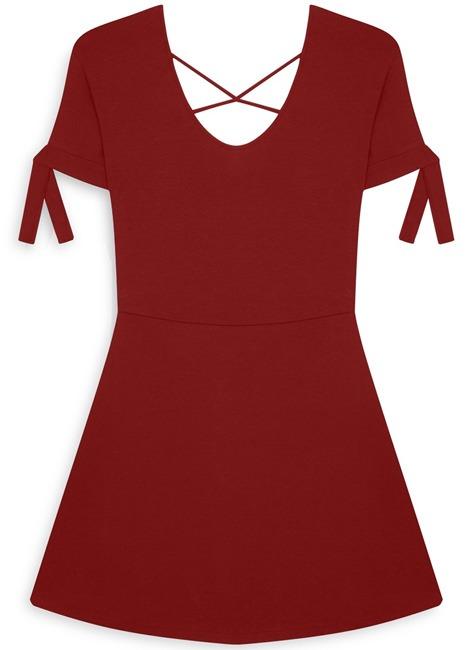 Vestido rojo cóctel