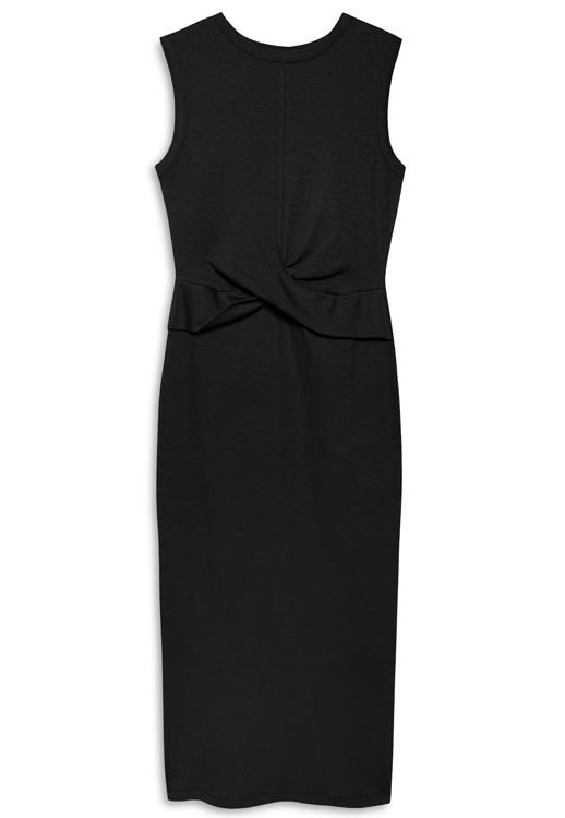 Vestido negro de gala Primark
