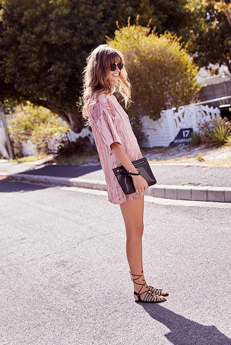 look dulce para chica