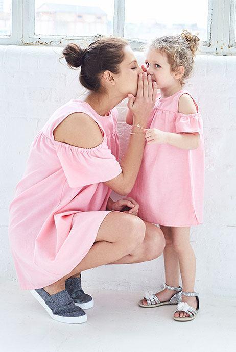 vestidos para mama e hija