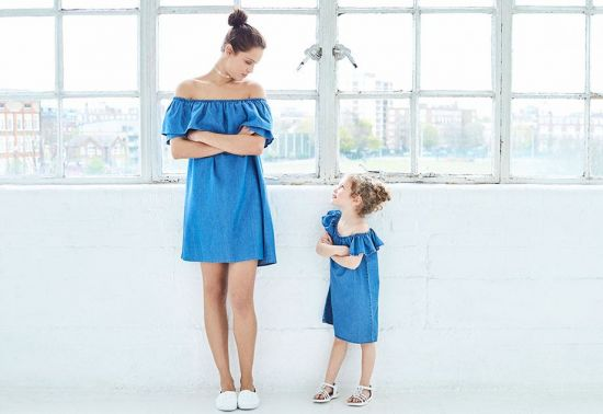 vestido madre e hija
