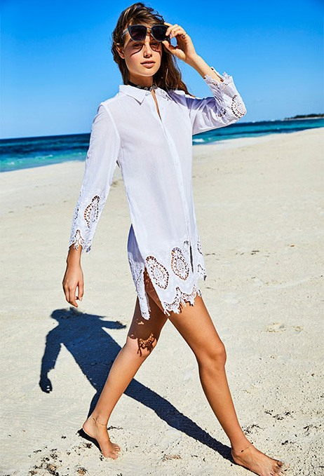 camisola para playa