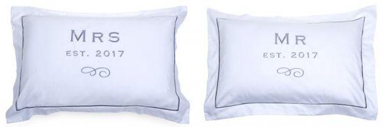 almohadas para novia