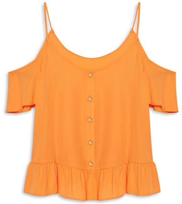 blusa mostaza