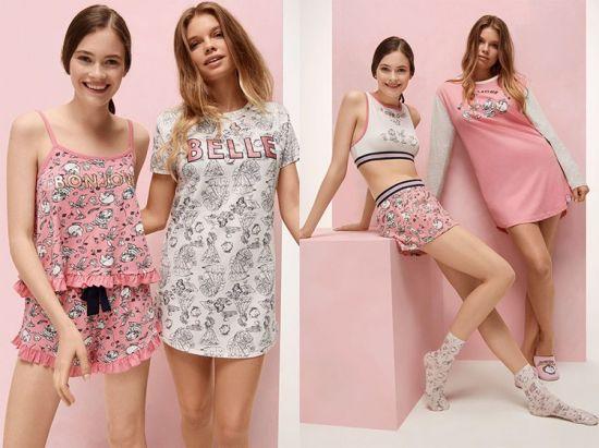 Pijamas Bella y Bestia