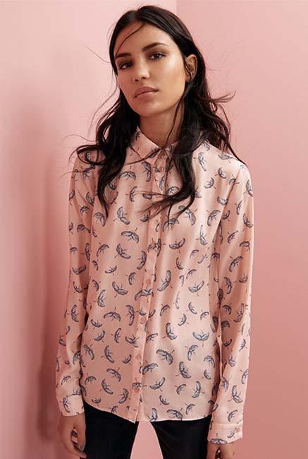 Camisa en rosa