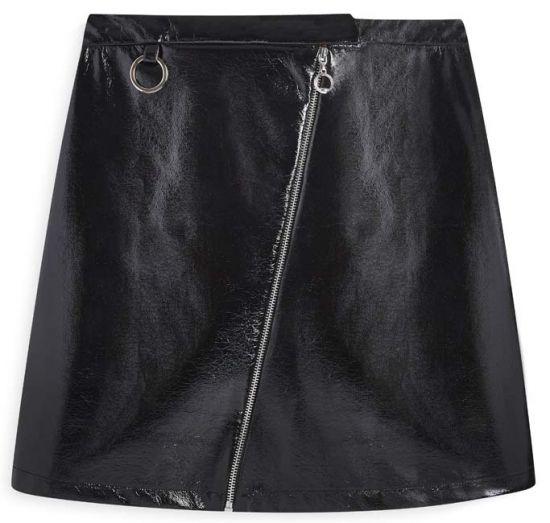 falda de cuero en Primark