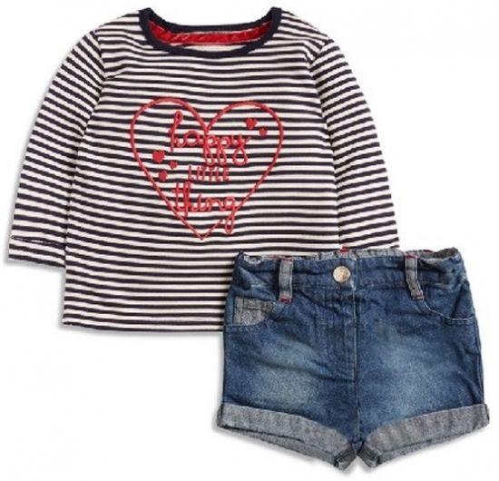 shorts para mujer y top