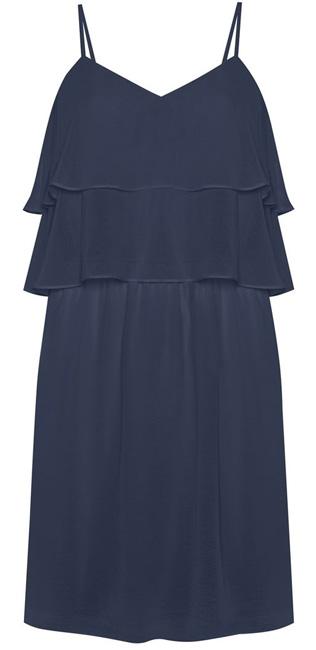 vestido corto liso