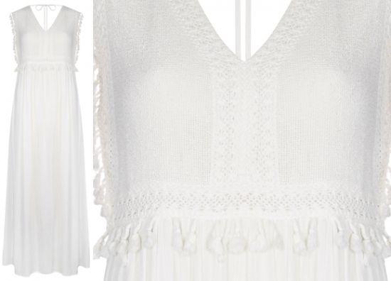 vestido blanco clásico