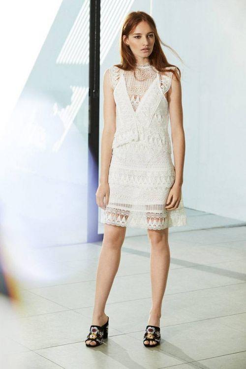 vestido fiesta blanco