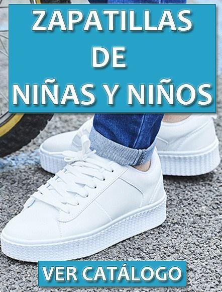 Zapatillas de niñas y niños