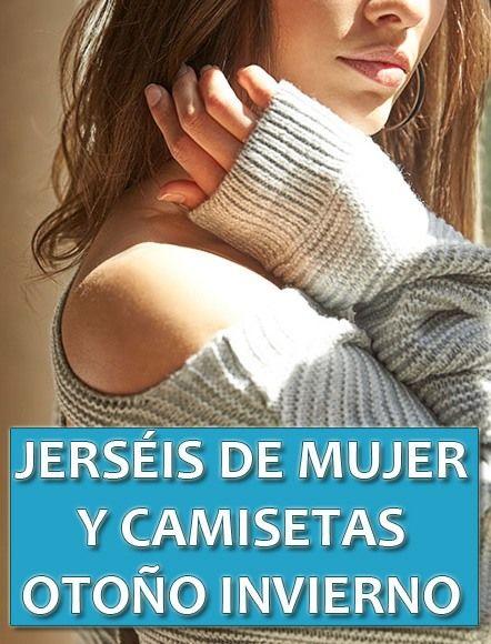 jerseys bonitos mujer otoño invierno