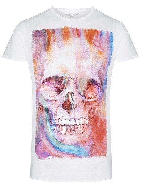 Camiseta de calavera
