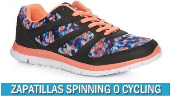 Zapatillas spinning para ciclismo