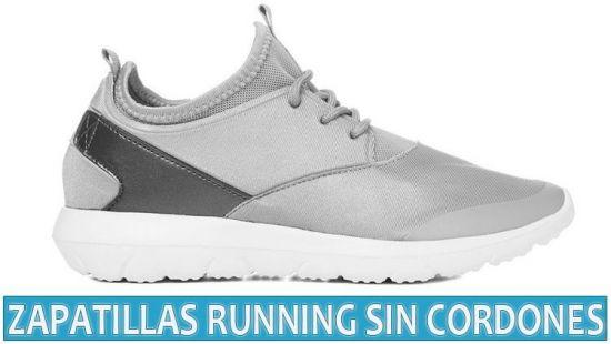 Zapatillas running sin cordones