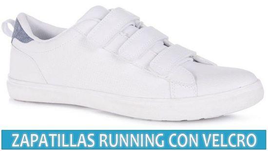 zapatillas deportivas con velcro para mujer