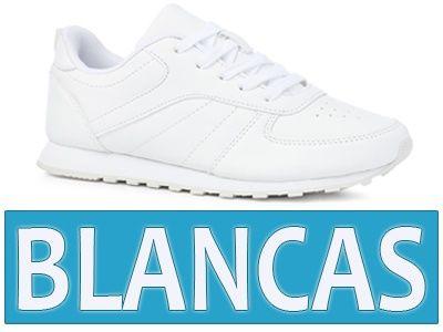 zapatilla blancas mujer