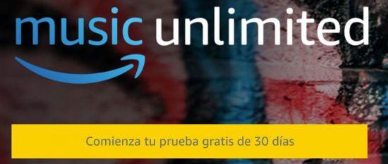 comenzar prueba gratis amazon music unlimited