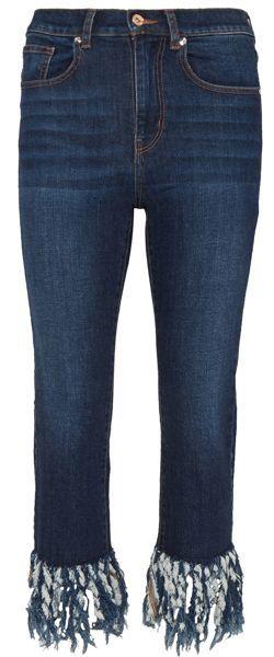 Jeans de mujer con flecos