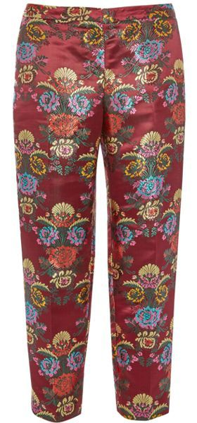Pantalon estampado de mujer