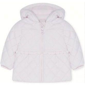 abrigo blanco bebe