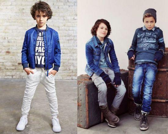 pantalones jeans para niños