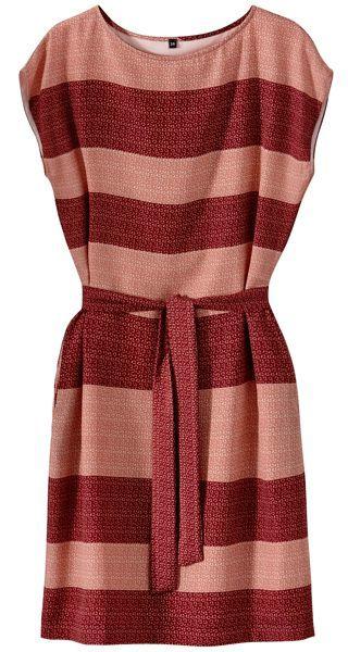Vestido rojo de algodon