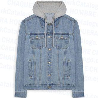 chaqueta hombre jean